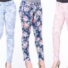 Women's Seven7 Printed Denim Pants