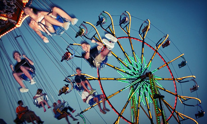 Williamson County Fair - Franklin: Williamson County Fair Visits August 2–10 (50% Off). Four Options Available.