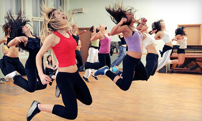 Zumba with Cassie - Multiple Locations: 5 or 10 Zumba Classes at Zumba with Cassie (Up to 56% Off)