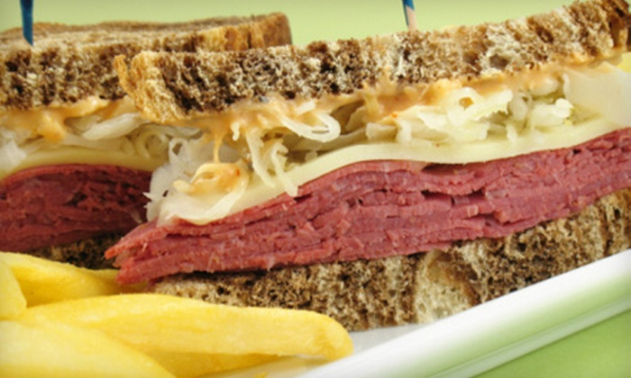 Deckers Express - Cumming: Deli Meal with Sandwiches, Sides, Drinks, and Cookies for Two or Four at Deckers Express in Cumming (Up to 60% Off)