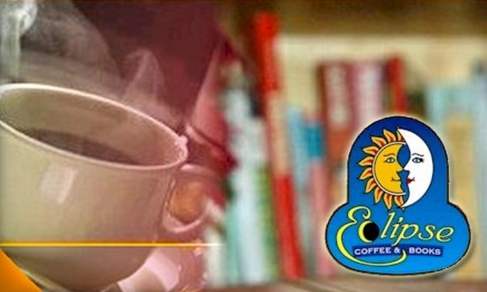 Eclipse Coffee and Books - Montevallo: $5 for $10 Worth of Coffee, Milkshakes, Breakfast Fare, and More at Eclipse Coffee & Books