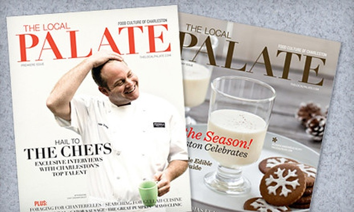 """The Local Palate"" - Downtown: $15 for an 18-Month Subscription to ""The Local Palate"" ($30 Value)"