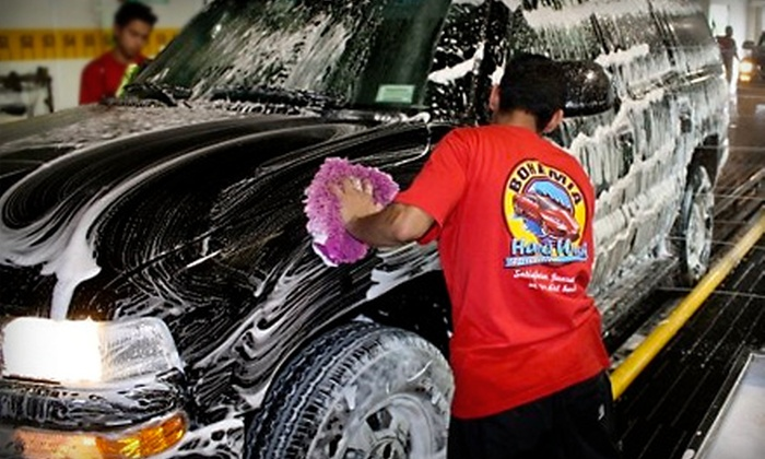 Bohemia Hand Wash - Sayville: $13 for a Bay Breeze Car Wash at Bohemia Hand Wash (Up to $27.15 Value)