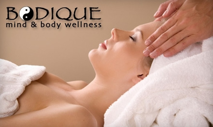 Bodique Mind and Body Wellness - Northwest Side: $50 for 90-Minute Massage Plus $15 Gift Certificate at Bodique Mind and Body Wellness ($110 Value)