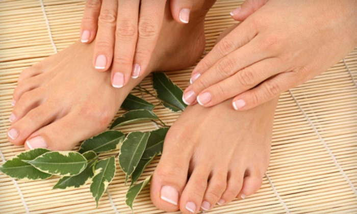 Chocolate For Your Body - Pilsen: One, Two, or Three Chocoholic Mani-Pedis at Chocolate For Your Body (Up to 58% Off)