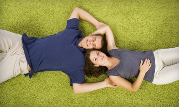 Fetz Carpet Cleaning - Central Business District - Downtown: $59 for Three Rooms of Carpet Cleaning or Sofa and Loveseat Cleaning from Fetz Carpet Cleaning (Up to $145 Value)