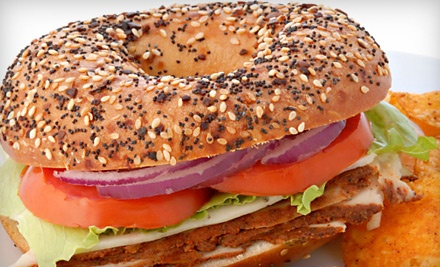 Lunch for 2 (up to a $17.50 value) - New York Bagel Cafe & Deli in Glen Mills