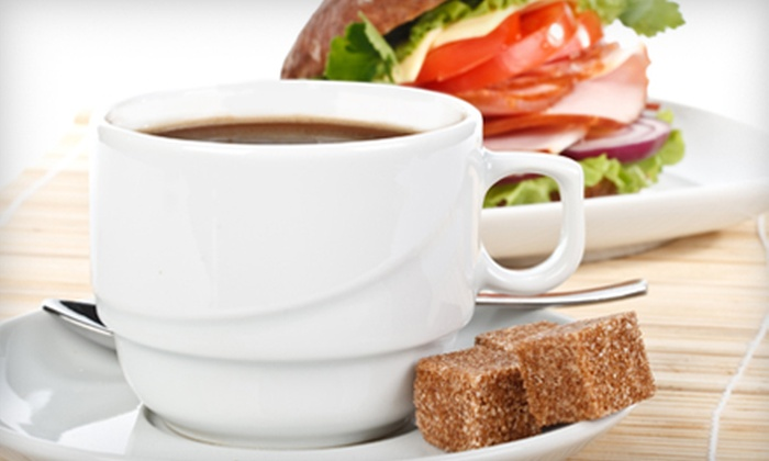 Old Louisville Coffeehouse - Cloverleaf: Sandwich Meal for Two or Four or Café Fare at Old Louisville Coffeehouse