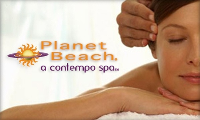 Planet Beach Contempo Spa - New Orleans: $20 for One Week of Spa Services at Planet Beach Contempo Spa (Up to $273 Value)