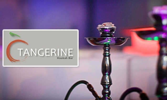 Tangerine Hookah Bar - Downtown San Jose: $15 for One Hookah, Plus a Refill at Tangerine Hookah Bar (Up to $32 Value)