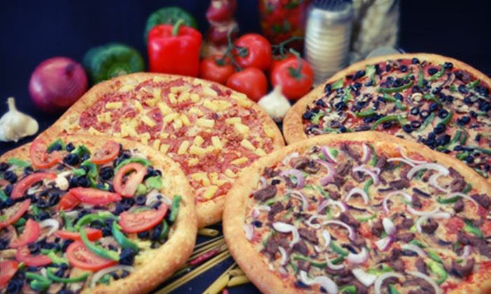 Happy Pizza - Manteca: $7 for $15 Worth of Sicilian-Style Pizza, Pasta, and Sandwiches at Happy Pizza