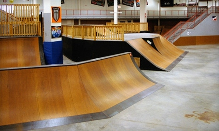Plan Nine Skatepark - Hazelwood: $14 for an All-Day Pass ($29 Value) or $28 for a Five-Session Pass ($60 Value) at Plan Nine Skatepark