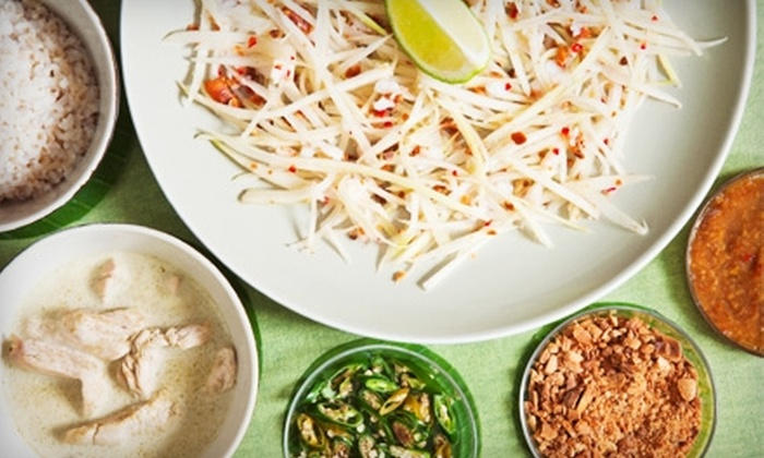 Thai Basil - Lone Tree: $6 for $12 Worth of Asian Fusion Fare and Drinks at Thai Basil in Lone Tree