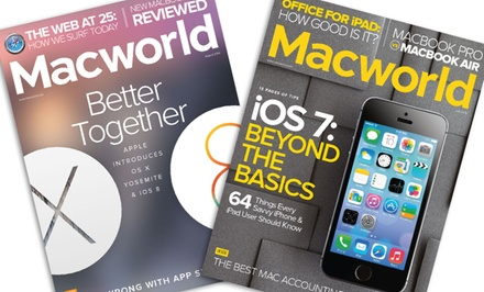 Macworld 1-Year Subscription (12 Issues)