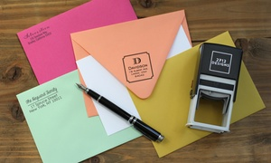 Personalized Self-inking Stamp From 2712 Designs (up To 58% Off)