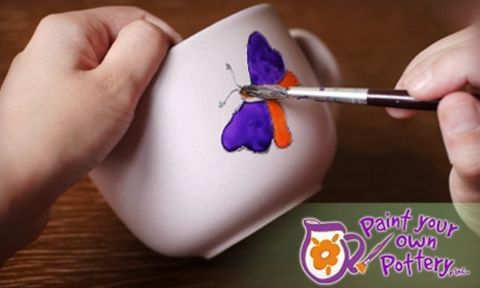Paint Your Own Pottery - Greenburgh: $15 for $30 Worth of All-Inclusive Pottery Painting at Paint Your Own Pottery