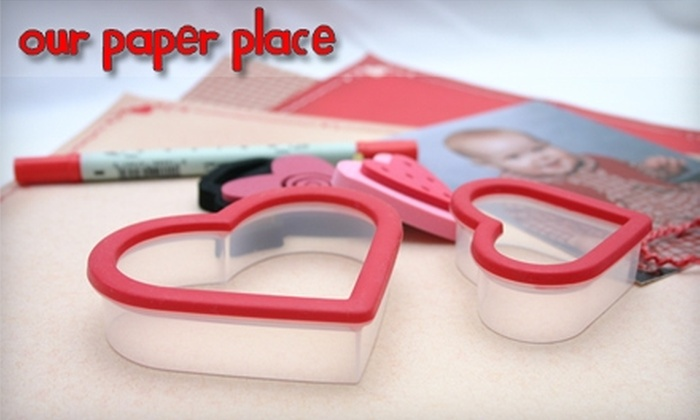 Our Paper Place - Newark: $10 for $20 Worth of Scrapbook Supplies at Our Paper Place