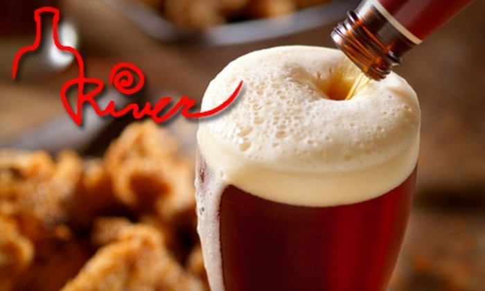 River Bar & Grill - Clinton: $15 for $30 Worth of American Cuisine and Drinks at River Bar & Grill