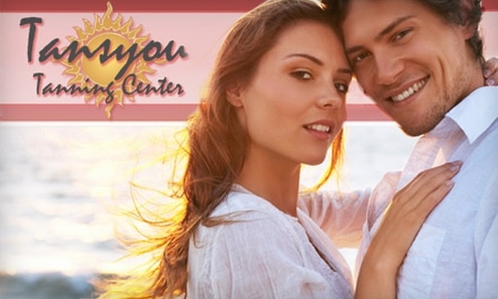 Tansyou Tanning Center - Walnut Valley: $20 for a Full-Body Airbrush Spray Tan at Tansyou Tanning Center ($47 Value)