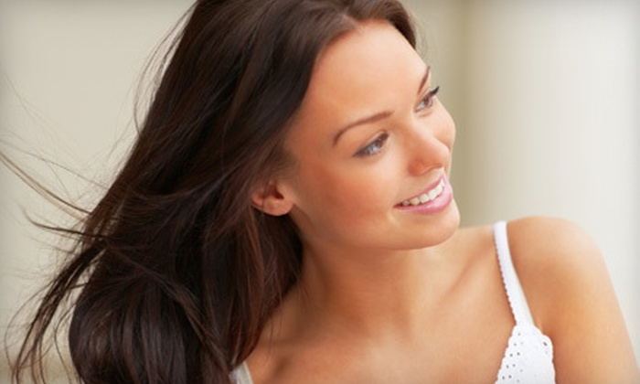 Thomas West Salon - Near North Side: Haircut, Partial-Highlights, or Full-Highlights Package at Thomas West Salon (Up to 73% Off)