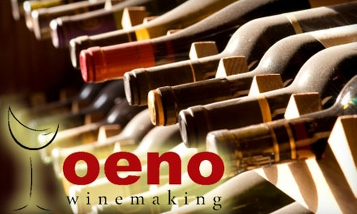 Oeno Winemaking - Kailua: $20 for a Wine Tasting for Four People at Oeno Winemaking ($60 Value)
