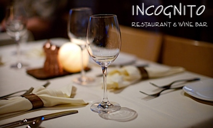 Incognito Restaurant and Wine Bar - Downtown Hamilton: $20 for $40 Worth of Fine Cuisine at Incognito Restaurant and Wine Bar ($45 on Tuesdays, Wednesdays, and Thursdays)