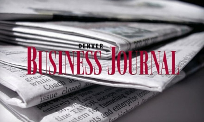"""Denver Business Journal - Uptown: $51 for One-Year Subscription to the """"Denver Business Journal"""" ($102 Value)"""