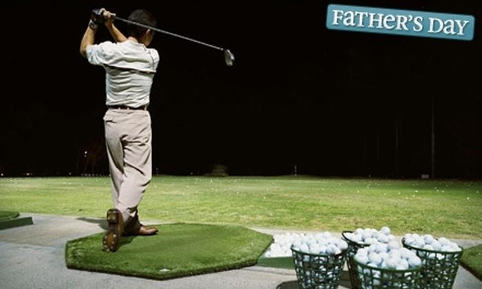 Redwood Golf Center - Redmond: $95 for a Punch Card for 50 Buckets of Golf Balls at Redwood Golf Center in Redmond ($191.63 Value)