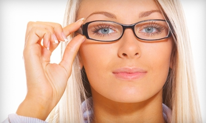 Crown Vision Center - Multiple Locations: $45 for $175 Worth of Frames and Lenses at Crown Vision Center