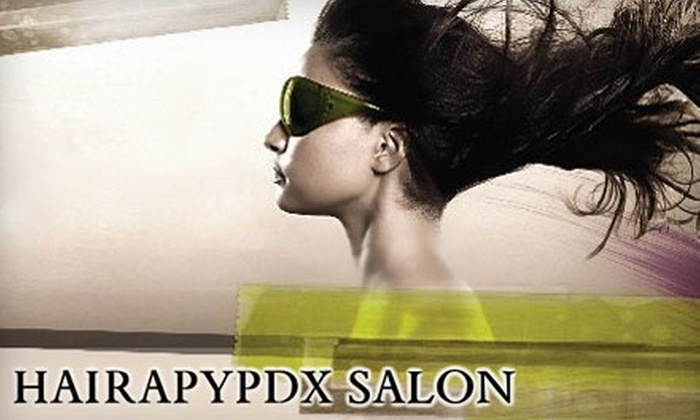 HairapyPDX Salon - Multnomah: $150 for Hair Treatment at HairapyPDX Salon (Up to $350 Value)