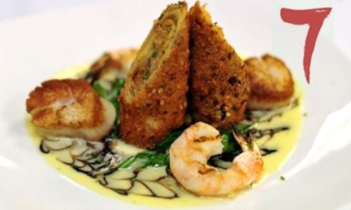 7 on Fulton - Central Business District: $15 for $30 Worth of Contemporary New Orleans Cuisine and Drinks at 7 on Fulton