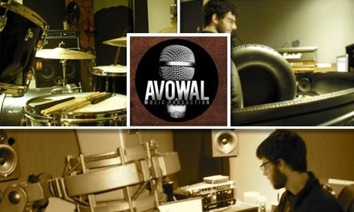 Avowal Music Production - Grahamwood Neighborhhod Association: $49 for One Hour of Recording Time with Mixing and Mastering at Avowal Music Production