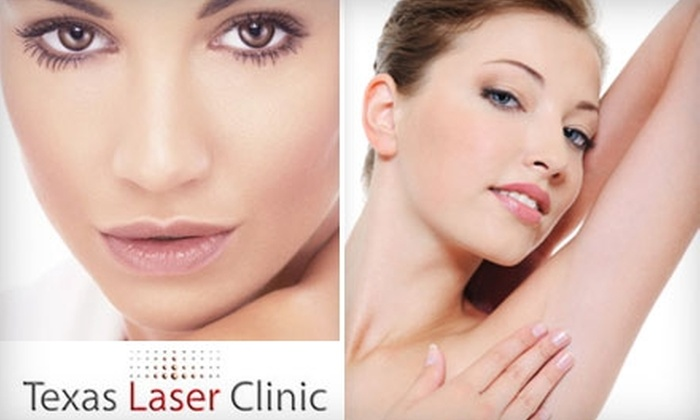 Texas Laser Clinic - Prestmont Center: $99 for Six Laser Hair-Removal Treatments on Two Areas of the Body at Texas Laser Clinic in Frisco (Up to $1,275 Value)