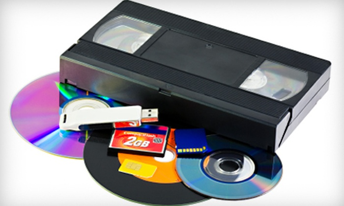 Classic Media Productions Inc. - Downers Grove: $40 for $100 Worth of Video-Transfer Services from Classic Media Productions Inc. in Downers Grove
