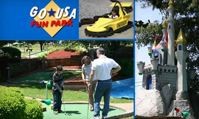 Go USA Fun Park - Murfreesboro: $12 for Four Go-Kart Rides or Four Rounds of Mini Golf at Go USA Fun Park in Murfreesboro (Up to $26 Value)