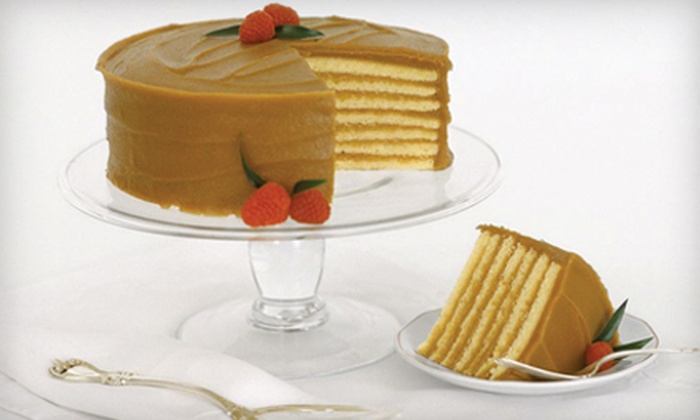 Caroline's Cakes - Covington: $43 for a Seven-Layer Caramel Cake with Shipping Included from Caroline's Cakes ($67.50 Value)
