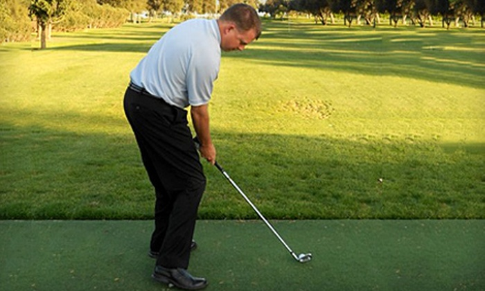 Lance Johnson Golf Academy - Escalon: $39 for One-Hour Private Golf Lesson and Range Balls from Lance Johnson Golf Academy ($80.50 Value)