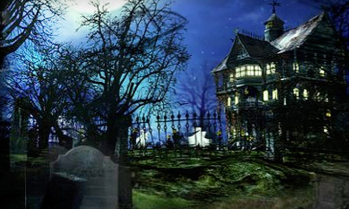 The Dark Manor Haunted House - Versailles: Matinee or Regular Haunted-House Admission for Two at The Dark Manor Haunted House in Versailles