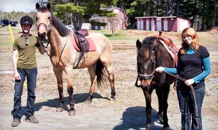 Medway River Stables - Mill Village: $15 for Two Pony Rides at Medway River Stables ($30 Value)