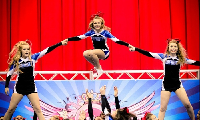 Infinity Cheer Force - Lewisville: Up to 60% Off tumbling or cheerleading class at Infinity Cheer Force