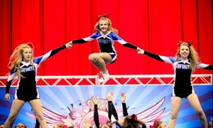 Infinity Cheer Force: Up to 60% Off tumbling or cheerleading class at Infinity Cheer Force