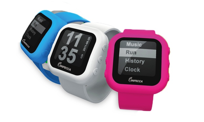 Impecca 4GB Pedometer Slapwatch and MP3 Player