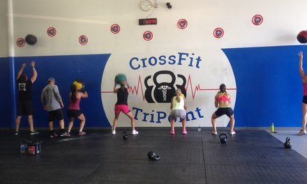 $18 for $60 Worth of CrossFit — Crossfit Tripoint