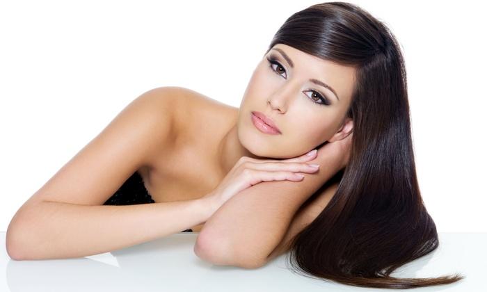 L Mondo Hair Moda - Hunt Club Estates: Haircut and Optional Express Keratin Treatment, Highlights, or Root Touch-Up at L Mondo Hair Moda (Up to 58% Off)