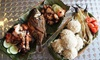 Mama Rosa Rotisserie & Grill - Middle River: Filipino and American Cuisine for Two at Mama Rosa Rotisserie & Grill (Up to 47% Off). Two Options Available.