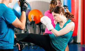 Quickfire Kickboxing Fitness: One-Month Introduction Membership for R199 at Quickfire Kickboxing Fitness (78% Off)