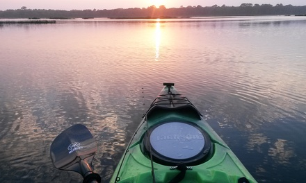 Two-Hour Sunset Kayak Eco Tour for One or Two from Action Kayak Adventures (Up to 50%Off)