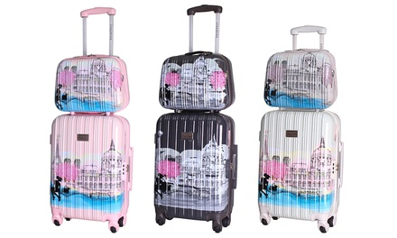 valise trolley vanity lollipops groupon shopping. Black Bedroom Furniture Sets. Home Design Ideas