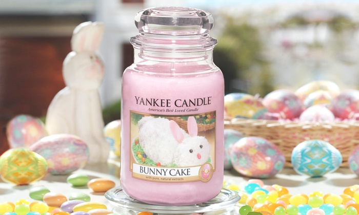 Yankee Candle Bunny Cake Jar