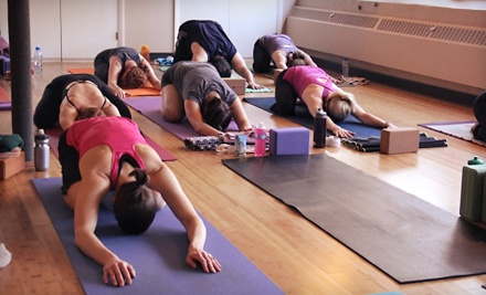 10 Yoga Classes or One Month of Unlimited Yoga Classes at bCalm Power Yoga (Up to 61% Off)